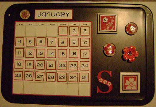 COOKIE SHEET CALENDAR 015