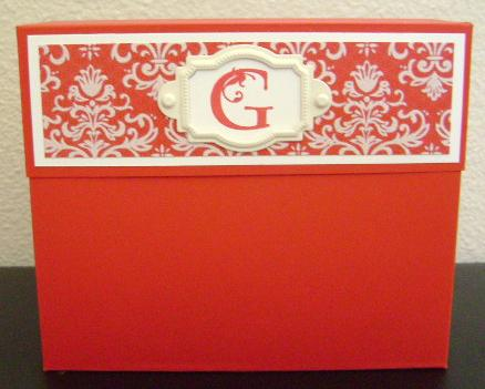 STATIONERY BOX 005