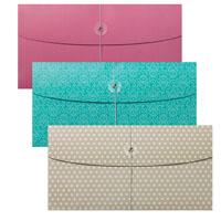 Gusseted envelopes
