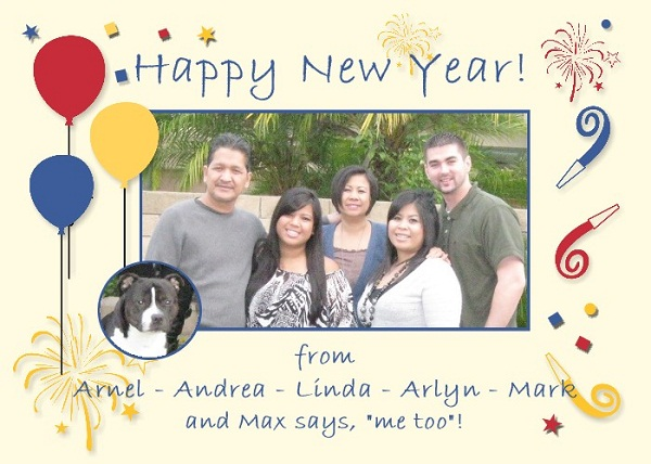 NEW YEAR CARD 2011-001 A