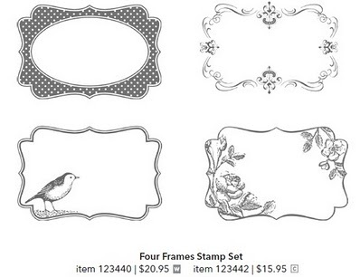 FOUR FRAMES STAMP SET