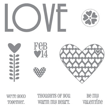 FILLED WITH LOVE STAMP SET