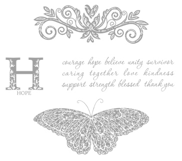 STRENGTH AND HOPE STAMP SET