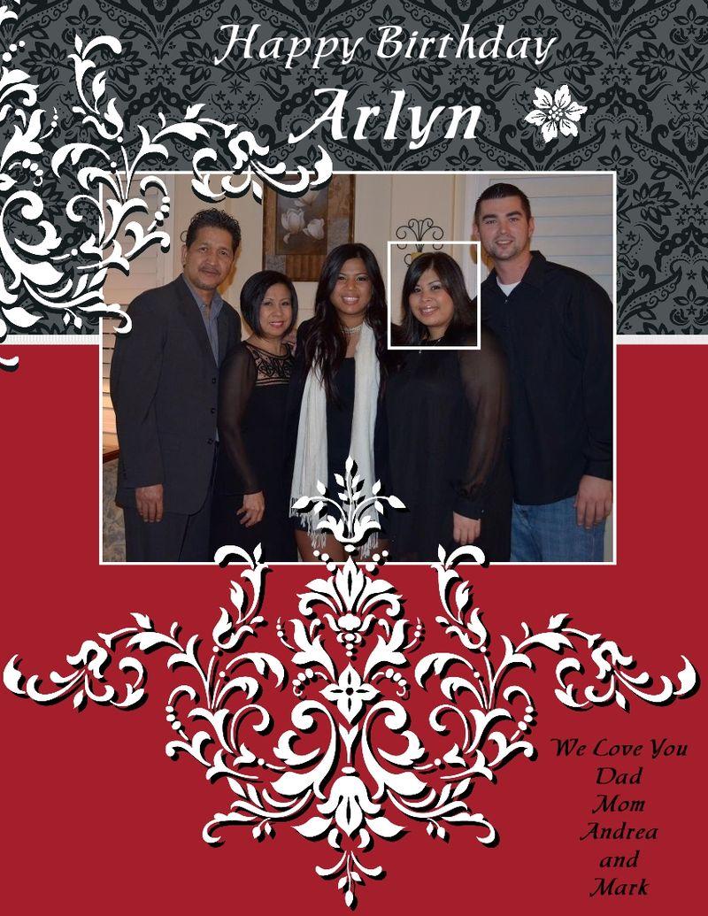ARLYN'S 29th BIRTHDAY-001