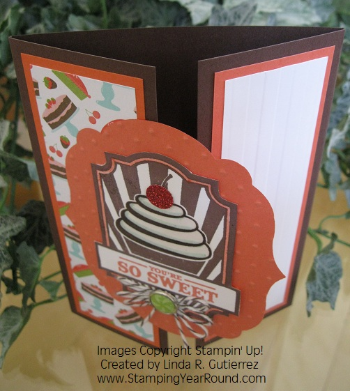SWEET CAKE GATE CARD (B)
