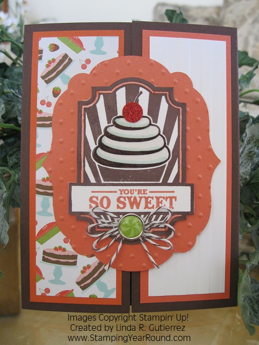 SWEET CAKE GATE CARD (A)