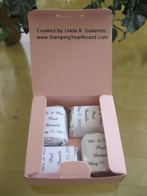 WEDDING FAVORS  INSIDE