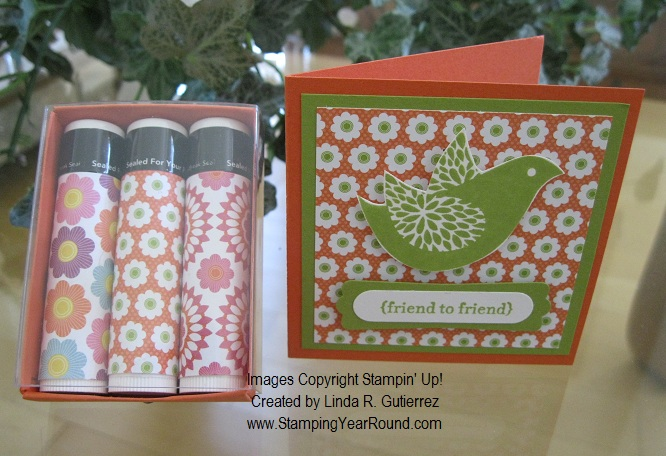 MATCHBOOK CHAPSTICK FAVOR