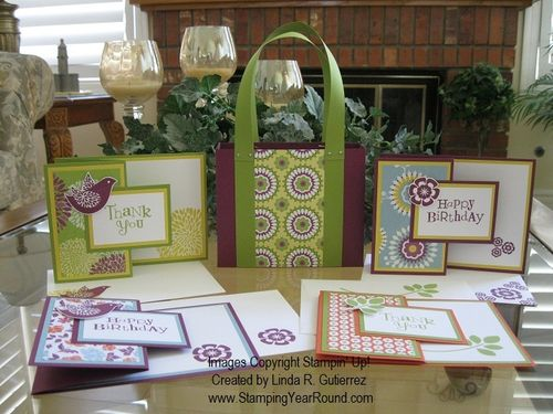 BETSY'S BLOSSOMS CARD ENSEMBLE