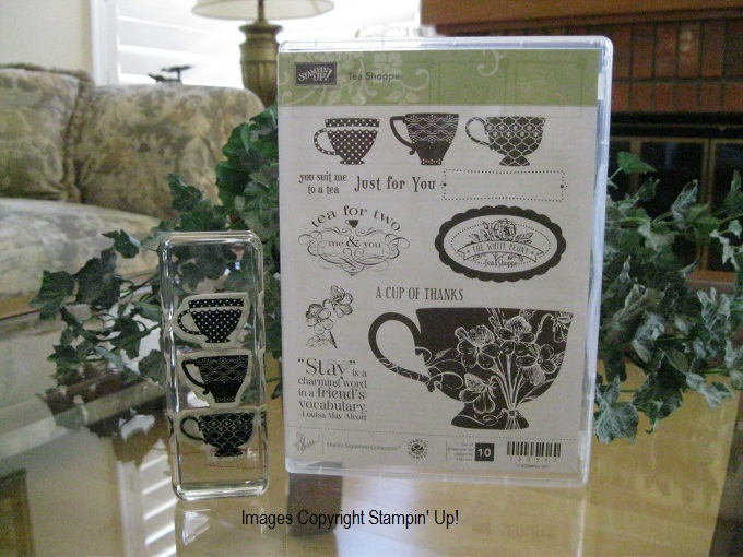 TEA SHOPPE CLEAR MOUNT
