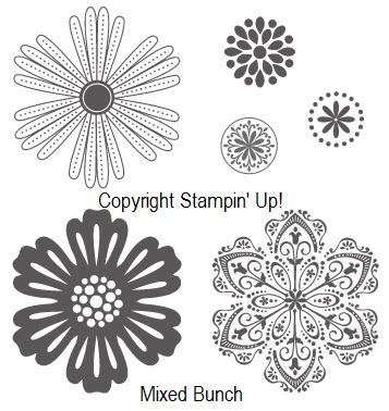 MIXED BUNCH STAMP SET