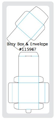 BITTY BOX & ENVELOPE DIE