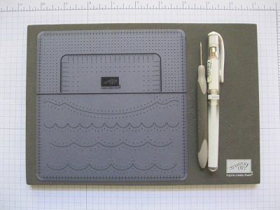TOOLS FOR FAUX STITCHING