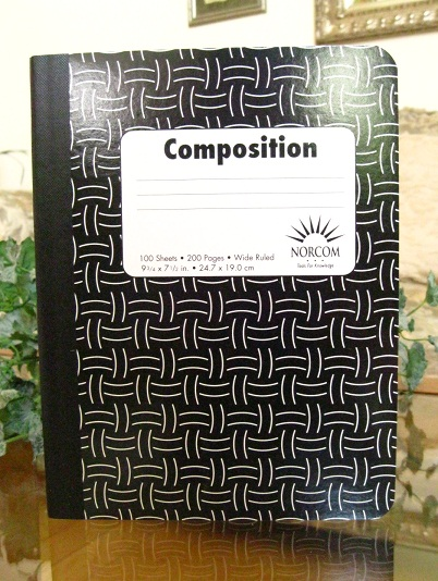PLAIN COMPOSITION BOOK