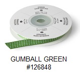 GUMBALL GREEN RIBBON