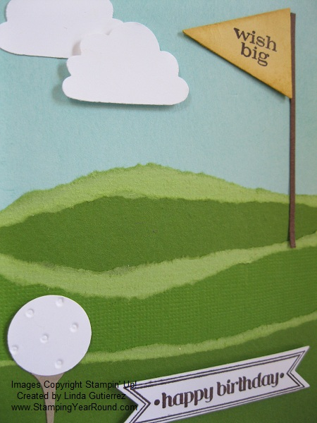 Core'dinations golf card close up