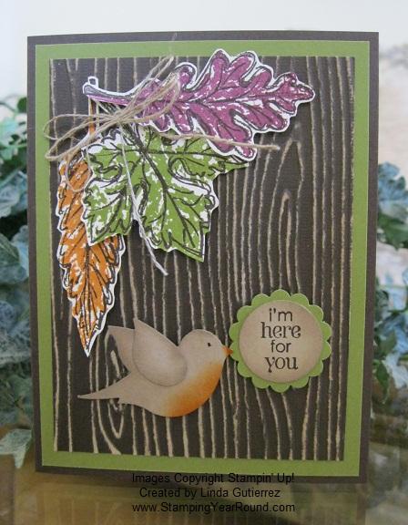 Core'dinations woodgrain card