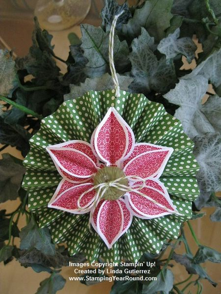 SCORED ORNAMENT