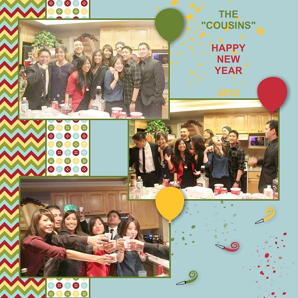 COUSINS NEW YEAR 2012A