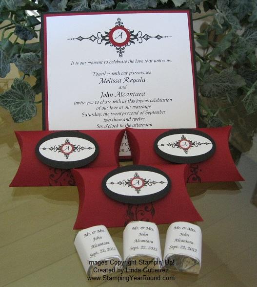 John & melissa wedding invitations