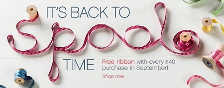 FREE RIBBON SPECIAL.