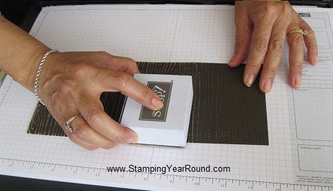 Core'dinations card stock sanding
