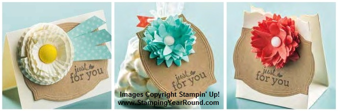 Pop-up posies stampin' up! samples