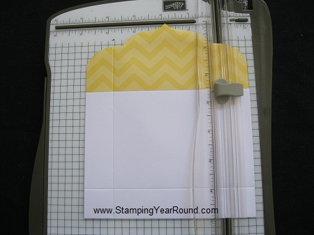 Envelope treat holder