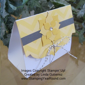 Envelope treat holder i