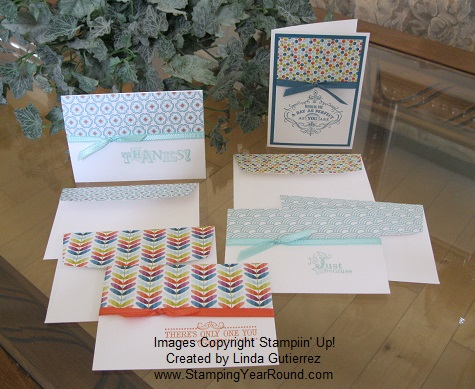STAMPIN' UP! SALE-A-BRATION CARDS