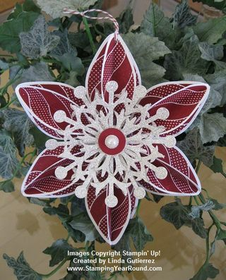 CHERRY COBBLER ORNAMENT