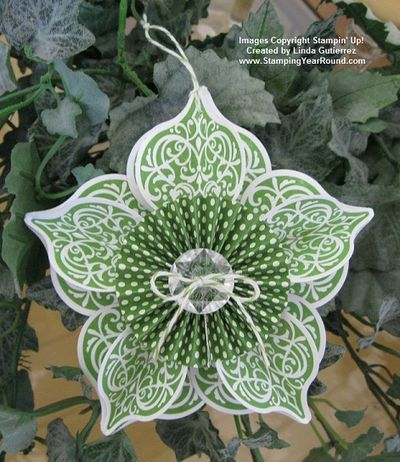 GUMBALL GREEN ORNAMENT