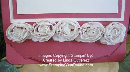 All dressed up flower trim tabs