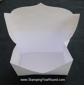 Envelope treat holder f