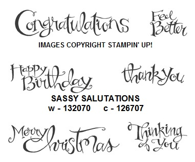 Sassy salutations