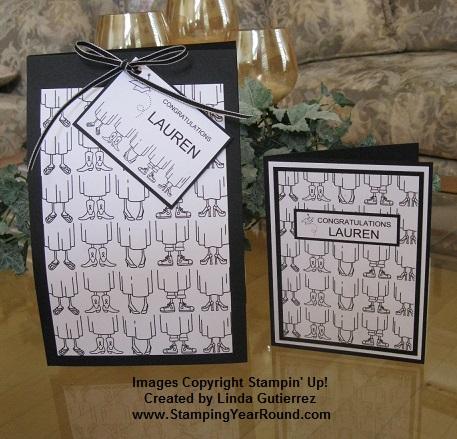 Grad gift bag & card