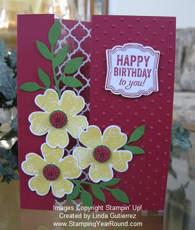 Flower shop window sheet card