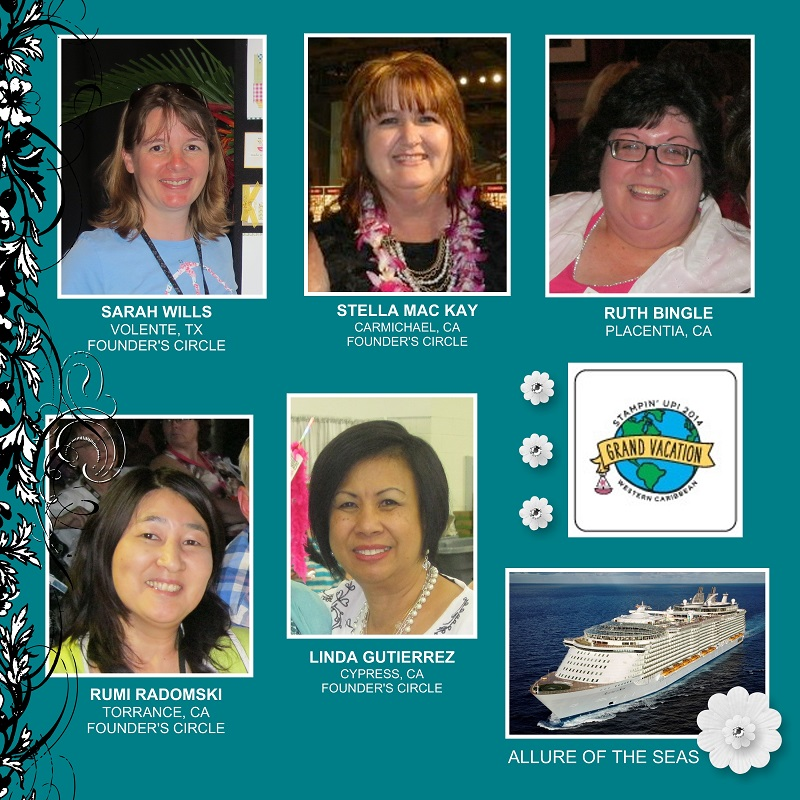 Cruise 2013 earners