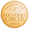 Founder's circle badge 100
