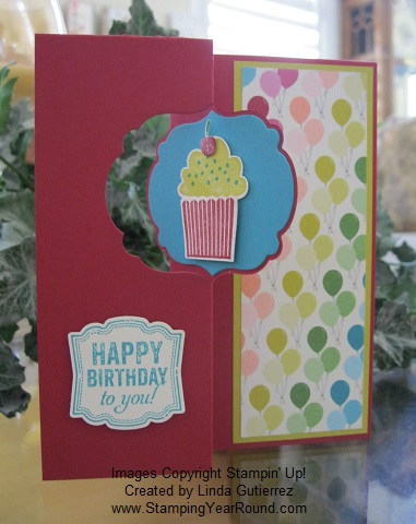 Thinlits card die birthday