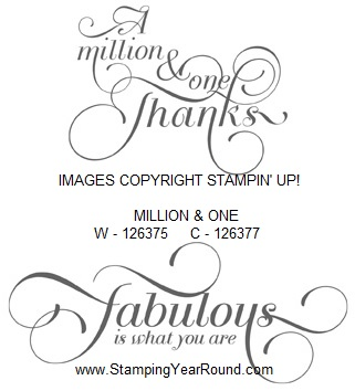 Million & one stamp set