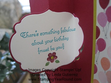 Thinlits card die birthday .
