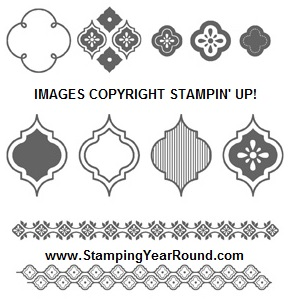 Mosaic madness stamp set