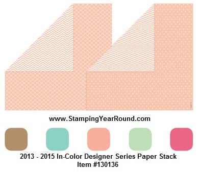 2013 - 2015 Designer Series Paper Stack