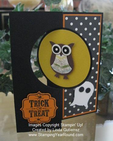Thinlits halloween card a
