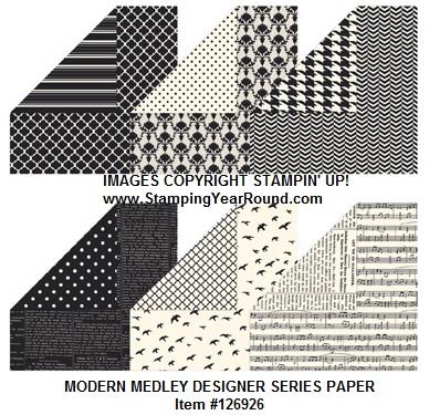 Modern medley designer series paper