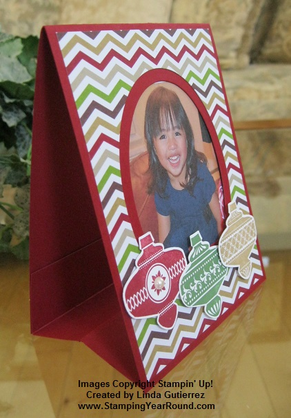 Photo frame christmas card b