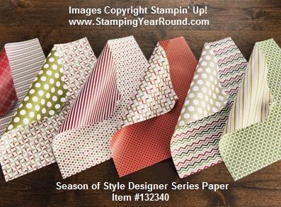 Season of style designer series paper