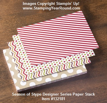 Season of style designer series paper stack