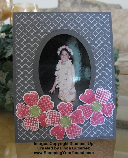 Photo frame floral a